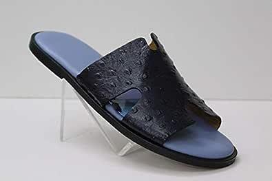 Nebras Blue slipper for men