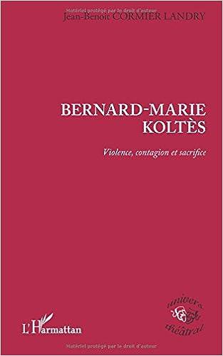Bernard-Marie Koltès pdf epub