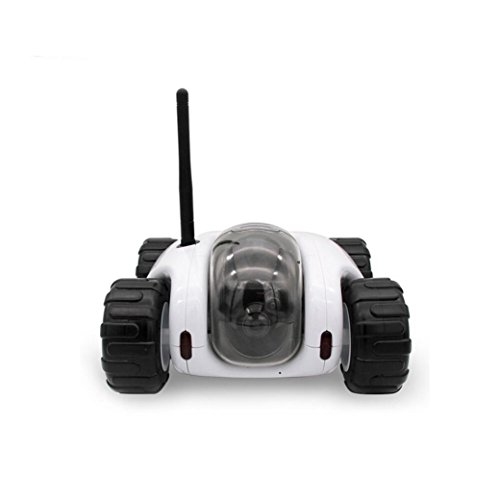 Vibola Remote Control Car Wireless remote control car camera that movement parent-child intelligent (white -O) by Vibola®
