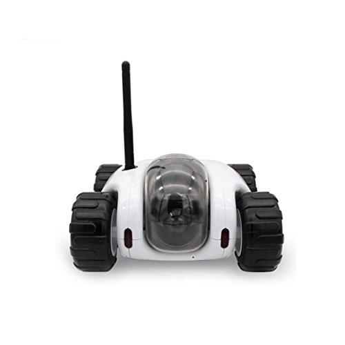 Vibola Remote Control Car Wireless remote control car camera that movement parent-child intelligent (white -O) by Vibola® (Image #1)