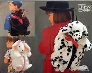 UNCUT & OOP VOGUE CRAFT 9112 FUR DOG, BEAR OR BUNNY BACKPACKS SEWING (Uncut Vogue Sewing Pattern)