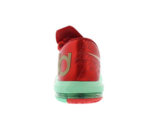 Nike Hommes Kd Vi Noël Synthétique Chaussures De Basket-ball