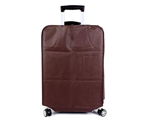 Non-elastic Suitcase Cover Waterproof Luggage Cover,3 Colors,Fits 24 Inch,Brown by CXGIAE (Image #7)