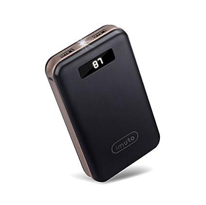 Batería Externa iMuto mAh Alta Capacidad Cargador Portátil Power Bank Puertos Cargador