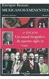 Mexicanos Eminentes, Enrique Krauze, 9687723904