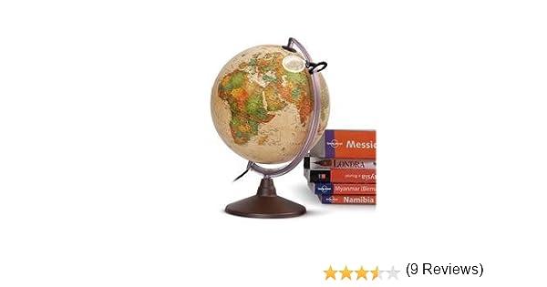 Globo terráqueo Marco Polo 26 cm: Amazon.es: Juguetes y juegos