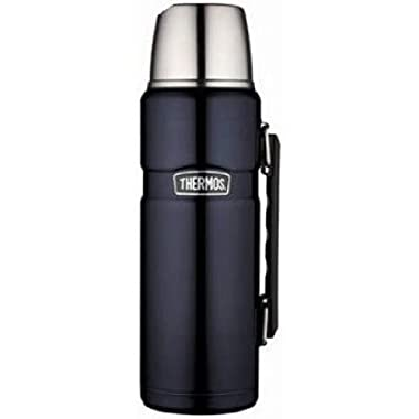 NEW THERMOS SK2010MB4 40-OZ STAINLESS STEEL VACUUM INSULTED KING BOTTLE (ELECTRONICS-OTHER)