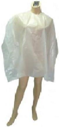 Negro Capas Desechables 50Unid 84X110 Blanco Plasticaps