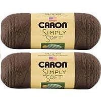 Bulk Buy: Caron Simply Soft Yarn Solids (2-pack)