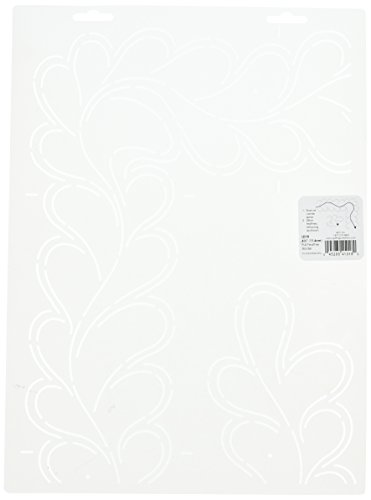 Quilting Creations Full Feather Border Quilt Stencil (Quilting Feather Stencil)