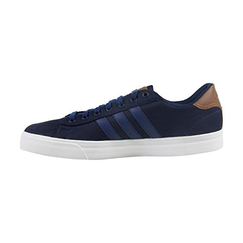 adidas CF Super Daily Mens Blue Nylon Lace Up Sneakers Shoes 1Od0DwX1A
