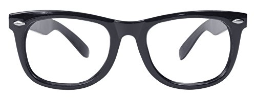 Bristol Novelty BA182 Spectacles Frame, Black, One Size