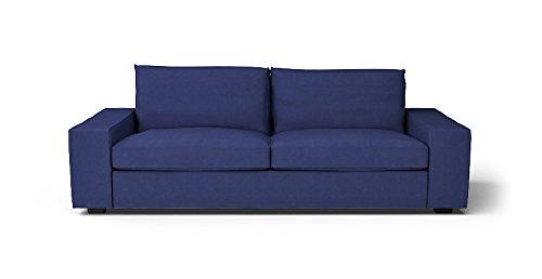 CUSTOM MADE SLIPCOVERS for Kivik Sofa Bed Navy Blue