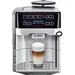 Bosch TES60321RW VeroAroma 300 Fully Automatic Espresso Machine SensoFlow, Silver