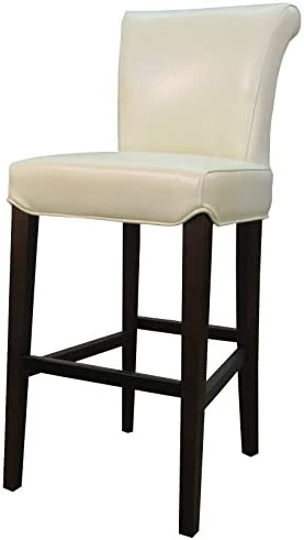 New Pacific Direct Bentley Bicast Leather Counter Bar Counter Stools, Beige