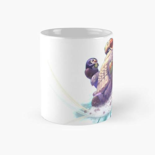 Bard, The Wandering Caretaker - League Of Legends Mug, bard Cup, 11 Ounce Ceramic Mug, Perfect Novelty Gift Mug, Funny Gift Mugs, Funny Coffee Mug 11oz, Tea Cups 11oz -