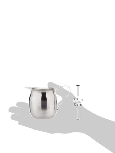 Winco BCS-8 Stainless Steel Bell Creamer, 8-Ounce, Medium by Winco (Image #1)