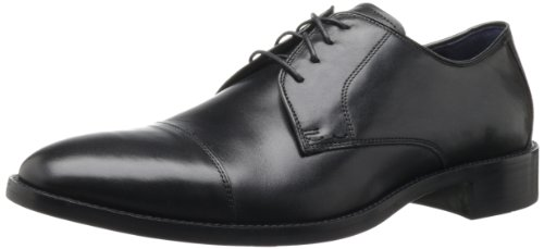 Cole Haan Men's Lenox Hill Cap Oxford,Black,9 W US