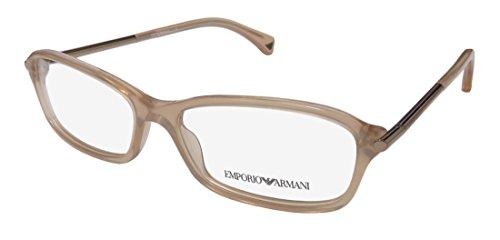 Emporio Armani Eyeglasses EA3006 5084 Opal Brown Pearl Demo Lens 53 15 - 15 Of 135