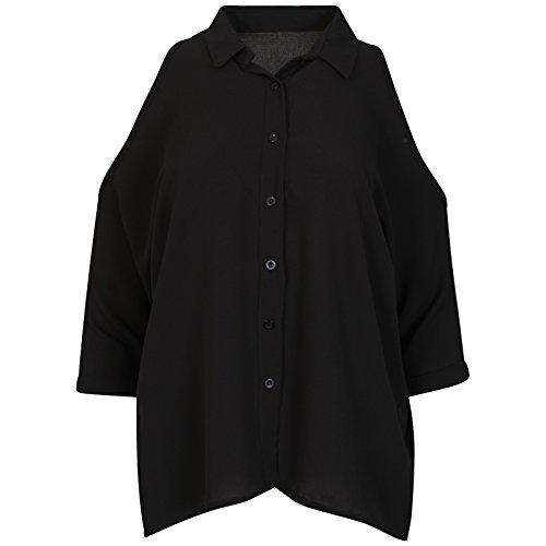 Get The Trend - Camisas - Button Down - Básico - para mujer negro