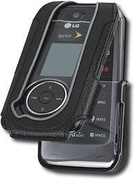 Body Glove - Case for cellular phone - black - LG Muziq LX570