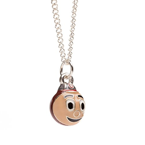 Ohio State Buckeyes Brutus 3-D Charm Pendant with Chain