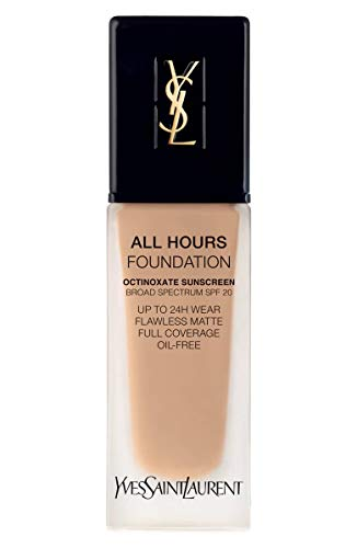 (YVES SAINT LAURENT All Hours Full Coverage Matte Foundation SPF 20 25ml # BD30 Warm Almond)