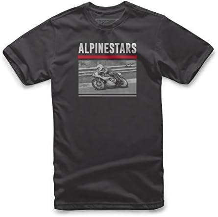 Alpinestar Recorded tee Camiseta Estampada Inspirada en el Deporte del Motor Hombre