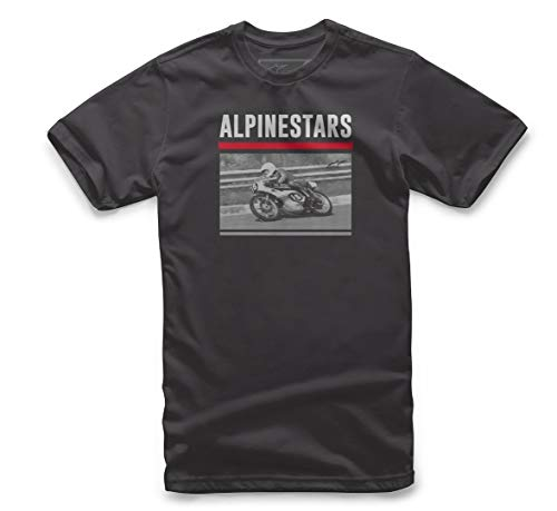 Manches Alpinestars Homme Noir Courtes shirt Recorded T rqAwaqtg