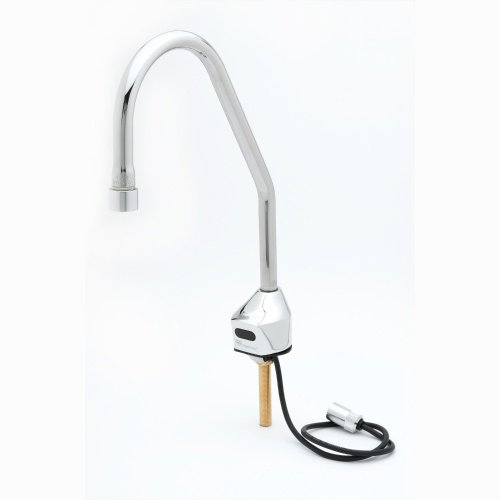T&S Brass EC-3100-LF22-SB ChekPoint Deck Mount Sensor Faucet with Surgical Bend Nozzle and 2.2 GPM, VR Laminar Device by T&S Brass