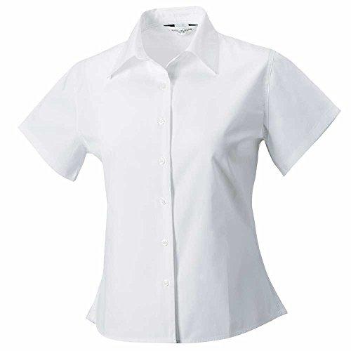Russell Womens Short Sleeve Classic Twill Shirt