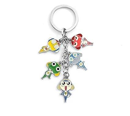 Amazon.com : Keroro Gunsou Metal Zinc Alloy Key Chains ...
