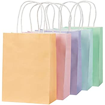 1b07977b26 Amazon.com   Meri Meri Pastel   Neon Large Gift Bags   Office Products
