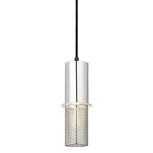 George Kovacs P9451-2-077, Larry Mini Cylinder Pendant, 1 Light Halogen, Chrome by George Kovacs