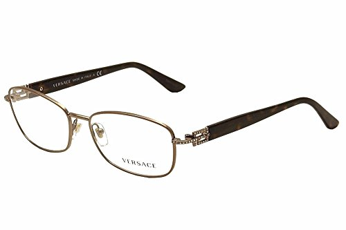 Versace VE1226B Eyeglass Frames 1013-54 - Copper VE1226B-1013-54 1013 Eyeglasses Brown Frame