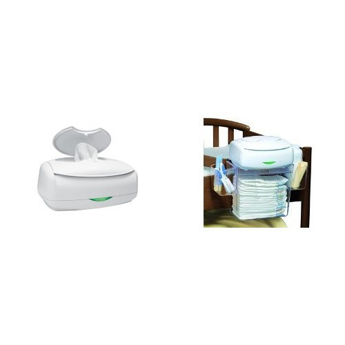 Prince Lionheart Ultimate Wipes Warmer with Diaper Depot Organizer by Prince Lionheart