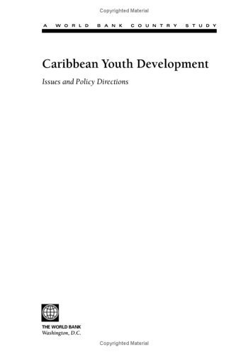 Caribbean Youth Development: Issues and Policy Directions (Country Studies) by Maria Correia (2003-05-17)