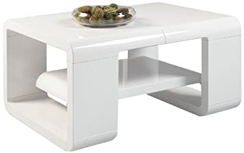 Hl Design Mandy Coffee Table 80 X 60 X 42 Cm White Amazon Co Uk