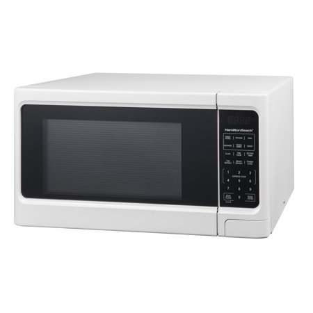 Hamilton Beach 1.1 cu ft Digital Microwave Oven, White by Hamilton Beach' (Image #1)
