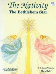 The Nativity Cross Stitch Pattern: The Bethlehem Star with Angels