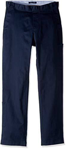 Tommy Hilfiger Adaptive Mens Seated Fit Chino Pants with Elastic Waist and Velcro Closure