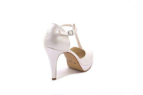 Color Blanco by Zapato Mujer Novia de 3314 modelo Almudena Nacar ConBuenPie Blanco de wPqZzxnn