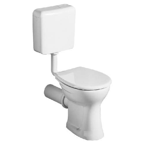 Keramag Renova Toilet (Without Lid) Wall Washer Flat No 1, 20100 White (Alpin) 201000000 outlet