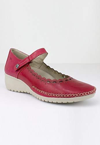 a Cu Burdeos Burdeos con Zapato Mercedes Fluchos w17qgIx