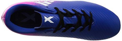 Adidas X 16.4 Fxg J, para los Zapatos de Entrenamiento de Fútbol Unisex Niños, Azul (Azul/Ftwbla/Rosimp), 38 EU