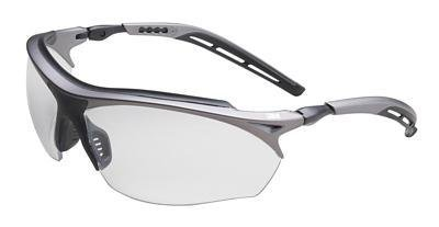 Maxim GT Protective Eyewear with Grey Frame and Clear Anti-Fog Lens