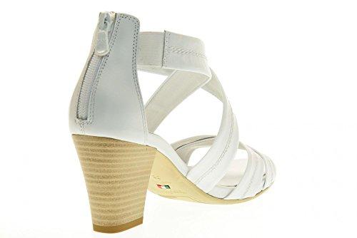 P717590D NERO 707 GIARDINI chaussures Blanc sandales qT8S7gR