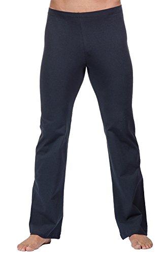 Fitwear USA Men's Basic Dance Pant with Elastic Waist (Black/Medium)