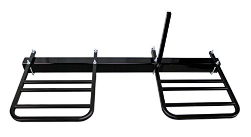 Traveler Hitch Rack - Quick Products QPRBM2R RV Bumper-Mounted 2-Bike Rack