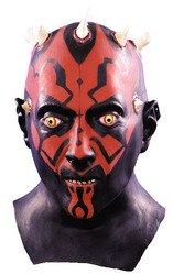 Deluxe Darth Maul Latex Mask Costume (Tar Man Halloween Costume)